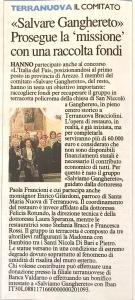 Salviamo Ganghereto - Nazione, Arezzo, Marzo 2017