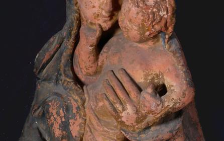 Madonna con Bambino da un Modello di Donatello