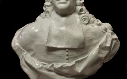 Il restauro del busto in porcellana di Carlo Ginori